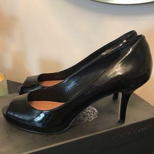 Vince Camuto Shoes - Vince Camino Black Patent Pump